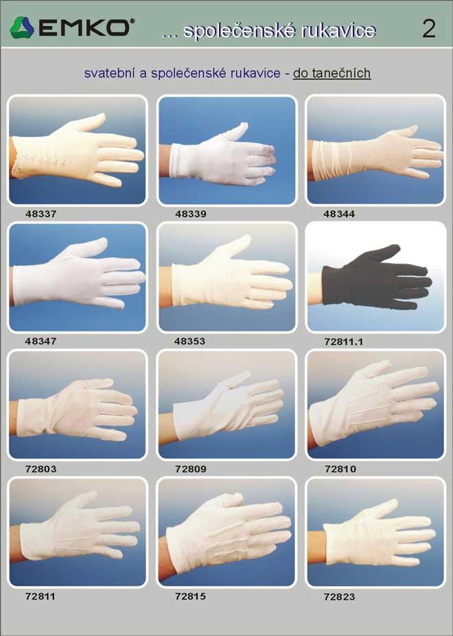 společenské rukavice do tanečních